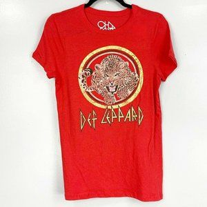 Chaser Def Leppard Short Sleeve Graphic Band Tee